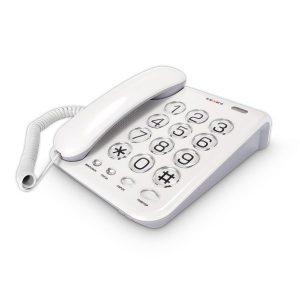 Телефонный аппарат TEXET TX-262 светло-серый