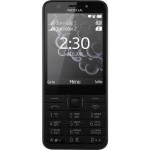 Телефон GSM Nokia 230 Dual SIM Dark Silver