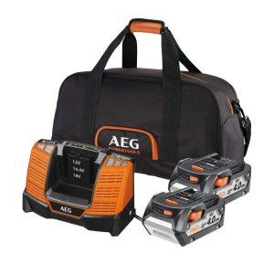 Аккумулятор с зарядным устройством AEG Powertools SET LL1840BL (49324641575)