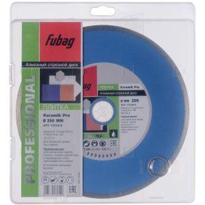 Алмазный диск FUBAG Keramik Pro 250х2