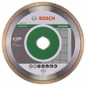 Алмазный отрезной диск Bosch Standard for Ceramic прямой 2.608.602.536