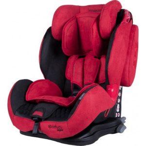 Автокресло COLETTO Sportivo Isofix (красный)