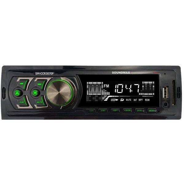 Автомагнитола Soundmax SM-CCR3070F (черный)
