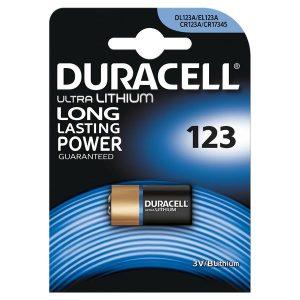Батарейка DURACELL Lithium CR123A