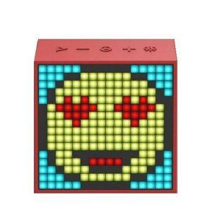 Беспроводная колонка Divoom Timebox-Evo (красный)