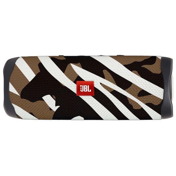 Беспроводная колонка JBL FLIP 5 (черно-коричневый камуфляж)