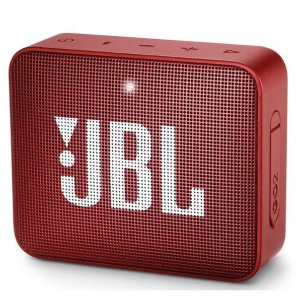 Беспроводная колонка JBL Go 2 (красный)