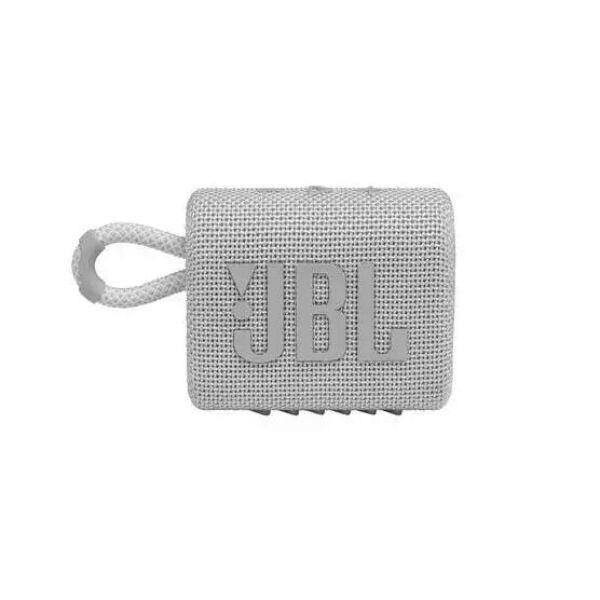 Беспроводная колонка JBL Go 3 (белый)