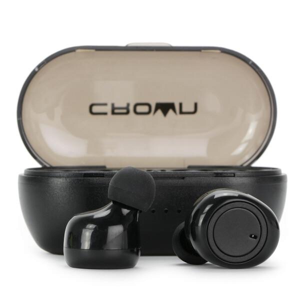 Беспроводные наушники CROWN CMTWS-5001 black