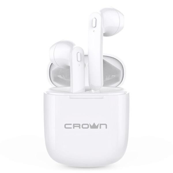 Беспроводные наушники CROWN CMTWS-5002 white
