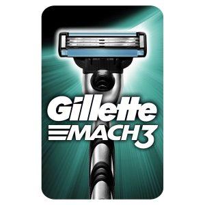 Бритва Gillette Mach3 с 1 сменной кассетой (3014260251147)