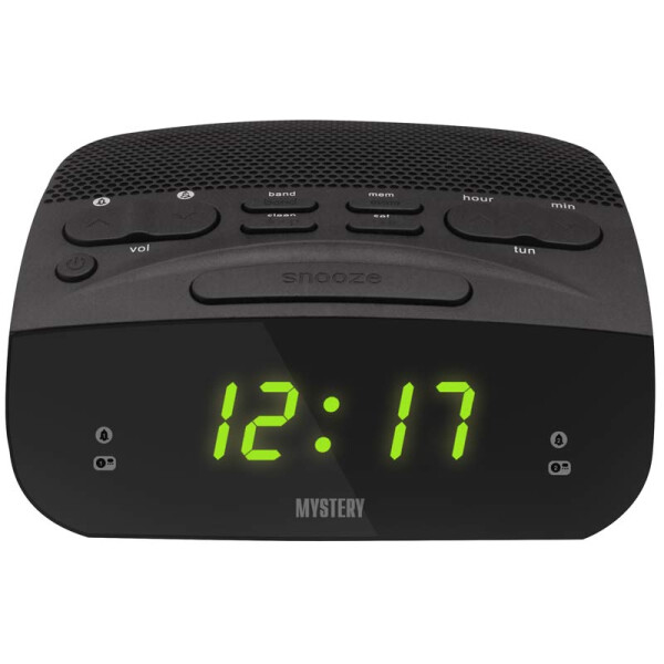 Часы-будильник MYSTERY MCR-23 green