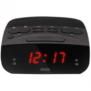 Часы-будильник MYSTERY MCR-23 red