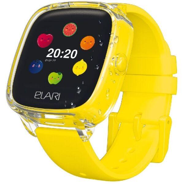 Часы-телефон ELARI KidPhone 4 Fresh (KP-F) желтый