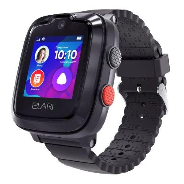 Часы-телефон ELARI KidPhone 4G (KP-4G) черный