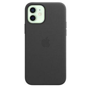 Чехол APPLE для iPhone 12/12 Pro MHKG3ZE/A (черный)