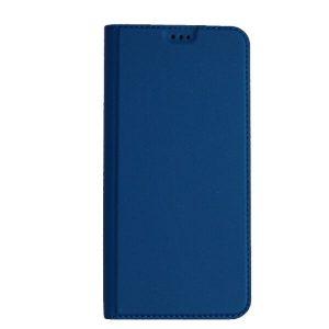 Чехол книжка Akami для Samsung Galaxy A12 Синий (19119)
