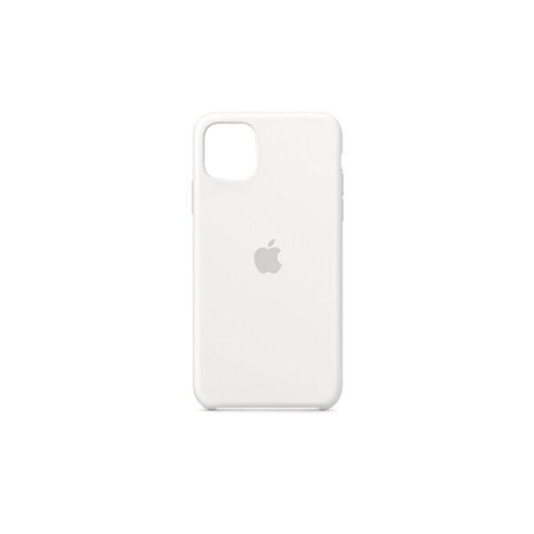 Чехол-накладка Apple iPhone 11 Pro Silicone Case (белый)