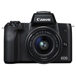 Цифровая фотокамера CANON EOS M50 EF-M15-45 IS STM черный