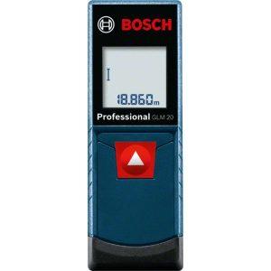 Дальномер лазерный Bosch GLM 20 Professional (0.601.072.E00)