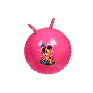 Детский массажный гимнастический мяч Bradex DE 0542 (розовый)