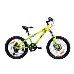 Детский велосипед Krakken Skully 20 (желтый)