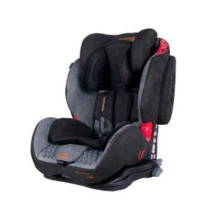 Детское автокресло Coletto Sportivo (серый/черный)