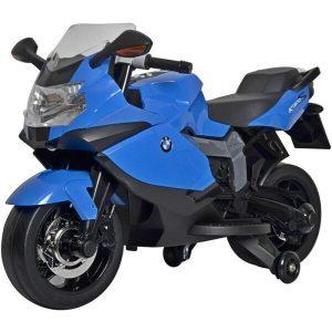 Электромотоцикл Chi Lok Bo BMW K 1300E (синий)