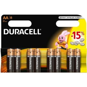Элементы питания DURACEL LR6/MN1500 8BP