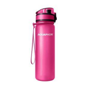 Фильтр-бутылка АКВАФОР Сити (розовый)