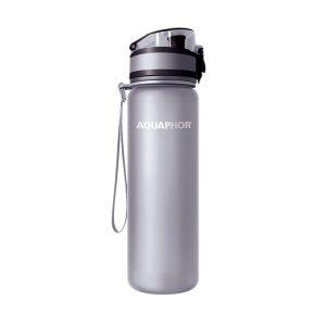 Фильтр-бутылка АКВАФОР Сити (серый)