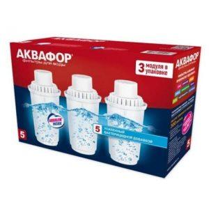 Фильтр для воды Аквафор В5 (3 шт)