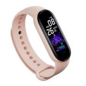 Фитнес-браслет D&A М5 (розовый)