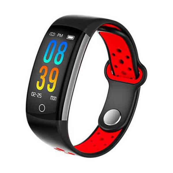 Фитнес-браслет SOVO SE08S (черный/красный)
