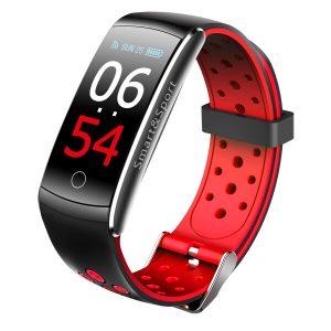 Фитнес-браслет SOVO SE12 (черный/красный)
