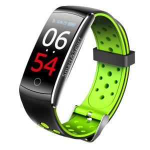 Фитнес-браслет SOVO SE12 (черный/зеленый)