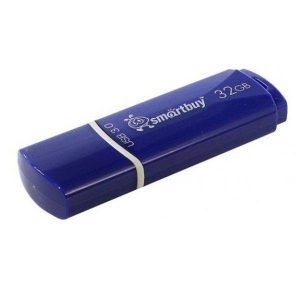 Флеш-память SMARTBUY 32GB Crown Blue (SB32GBCRW-Bl)