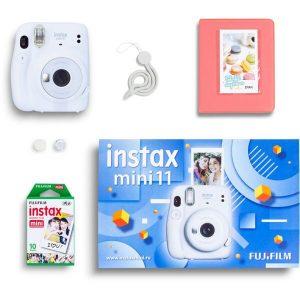 Фотоаппарат FUJIFILM Instax Mini 11 (белый) Geometric Set