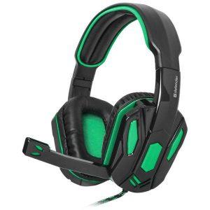 Гарнитура Defender Warhead G-275 зеленый + черный