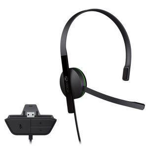 Гарнитура для игровой консоли MICROSOFT Xbox One Chat Headset S5V-00012