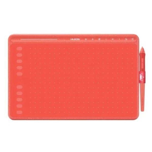 Графический планшет Huion HS611 (коралловый красный)
