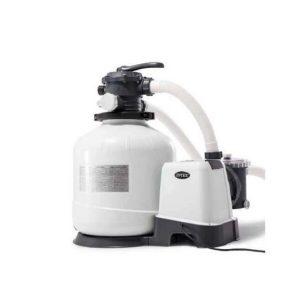 Хлоргенератор INTEX (система морской воды) с песочным фильтр-насосом 10000л/ч (26680)
