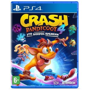 Игра Crash Bandicoot 4: Это Вопрос Времени [PS4