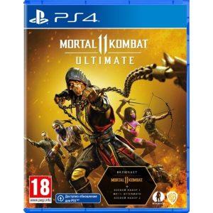 Игра Mortal Kombat 11 Ultimate [PS4