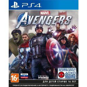 Игра Мстители Marvel для PlayStation 4