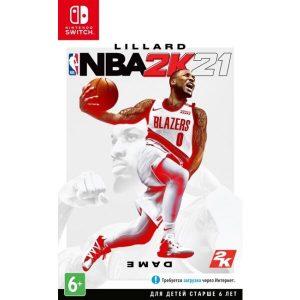 Игра NBA 2K21 для Nintendo Switch (английская версия)