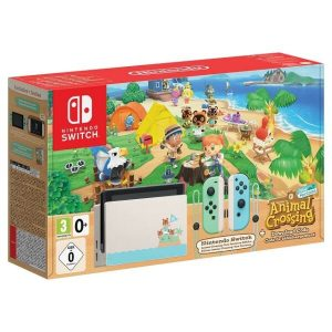 Игровая приставка Nintendo Switch + Animal Crossing: New Horizons