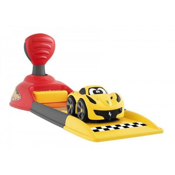 Игровой набор CHICCO Ferrari Launcher (машинка+пусковая установка)