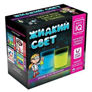 Игровой набор IQ MASTER Жидкий свет X026