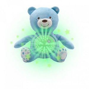 Игрушка музыкальная CHICCO Мишка (голубой)
